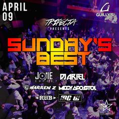 Tonight its SUNDAY'S BEST at your #No1ClubUpNorth Guillys Tomas Morato! #guillysnightclub #wheninmanila