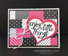 Layering Love stamp set pairs with Sweet & Sassy framelits dies for this love and hearts card created by Mary Fish, Stampin' Up! Demonstrator. 1000+ StampinUp & SUO card ideas. Read more http://stampinpretty.com/2016/05/pals-blog-hop-new-from-stampin-up.html