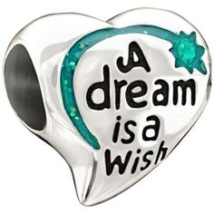 Chamilia - Sterling Silver 'A Dream is a Wish' Bead- H. Samuel the Jeweller