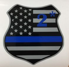 Idaho ID state thin SILVER line decal Corrections Officer Sticker Decal V