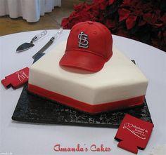 cardinals grooms cake!