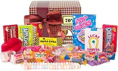 New Candy Crate Old Fashioned Sweets Decade Gift Box 1970's