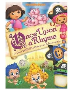 Nickelodeon Favorites Once Upon A Rhyme