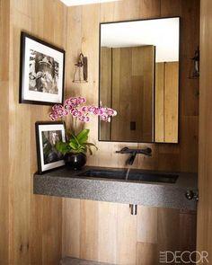 Pia lavabo granito Courteney Coxs A Alonso Mármores produz peças em pedras…