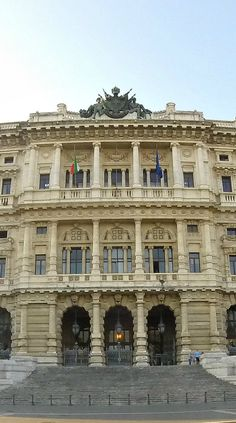 The Palace of Justice in Rome, Italy on Piazza Cavour