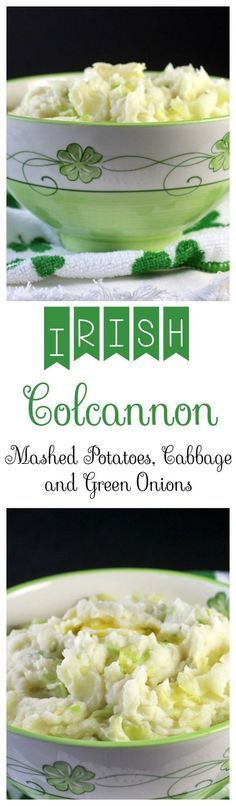 Irish Colcannon – Creamy mashed potatoes with cooked cabbage and green onions. Recipes, Food and Cooking Irish Colcannon – Creamy mashed potatoes with cooked cabbage and green onions. Recipes, Food and Cooking Vegetable Dishes, Vegetable Recipes, Vegetarian Recipes, Whole30 Recipes, Healthy Recipes, Cooking Vegetables, Vegetable Noodles, Kids Cooking Recipes, Kid Cooking
