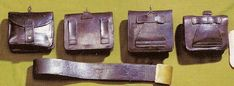 Cartouchieres and Belt