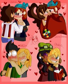 Fav MCSM Ships (Late Valentines Day thing) by kittykatty123