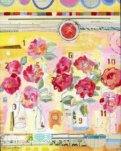 sarah ahearn bellemare artist | eleven roses , originally uploaded by sarah ahearn .