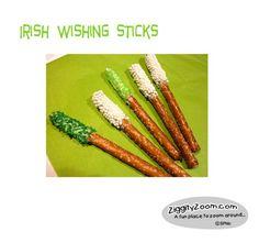 Irish Wishing Sticks - Last minute St. Patrick's Day activity