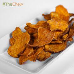 Daphne Oz's Baked Sweet Potato Fries #TheChew