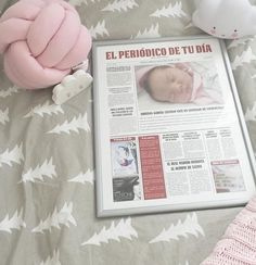 La peque Adriana posó fenomenal en la portada que le hicimos. ¡Quedó preciosa! Conoce todos los formatos en http://www.elperiodicodetudia.com/