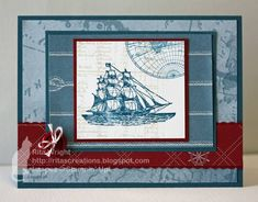 FMS11: Open Seas by kyann22 - Cards and Paper Crafts at Splitcoaststampers