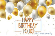 We can't believe it's our Birthday. View all of our milestones on our website! Happy Birthday To Us, 5th Birthday, Affair, Let It Be, Website