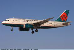 US Airways - Airbus A319 - N838AW - Las Vegas International Airport