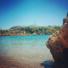 Ladiko beach Rhodos, Greece