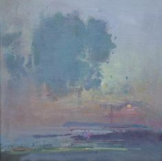 cloud evening ~ oil ~ by frederick cuming