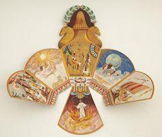 Mardi Gras Folding Ball Invitation, Proteus, 1903,