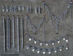 Silver Chainmail Jewelry Poly Pilippou   Online Jewelry