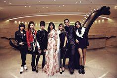 Jessie Jo et 2ne1 ~ Chrome Hearts X Shinsegae Party pour W Korea Magazine (numéro de juillet 2013).