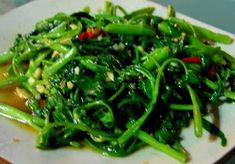 resep tumis kangkung enak,tumis kangkung saus tiram,resep tumis kangkung pedas,resep tumis kangkung terasi,masak kangkung tetap hijau,resep kangkung crispy,tumis kangkung spesial, Yummy Vegetable Recipes, Healthy Dessert Recipes, Healthy Chicken Recipes, Vegetarian Recipes, Healthy Dinner Sides, Healthy Meals For One, Indonesian Food, Indonesian Recipes, Healthy Vegetables