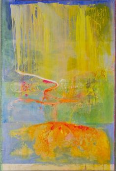 Frank Bowling RA's PICKERSLIFT at the RA Summer Exhibition 2015