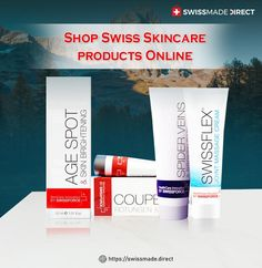 Choose the best skin care products from top Swiss brands now. Explore #Skin Care products like #sunscreens, Anti Couperose gel & more only at Swissmade Direct.
