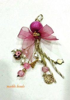 δ Lucky Charm, Key Chains, Christmas Time, Tassels, Charmed, Brooch, Crafts, Jewelry, Xmas