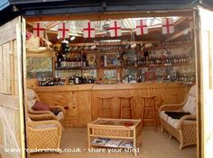 the rugby pub, Pub Shed shed from garden | Readersheds.co.uk