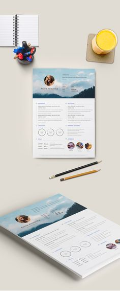 Free 31 Best Resume Templates For 2019 - CreativePentool Best Resume Template, Creative Resume Templates, Free Resume, Graphic Design Resume, Cards, Best Cv Template, Maps