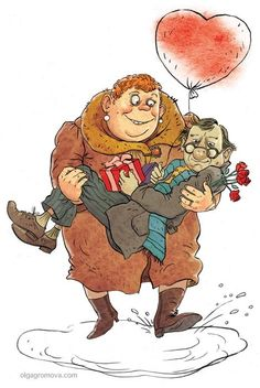 Карикатуры и иллюстрации Ольги Громовой: karhu53