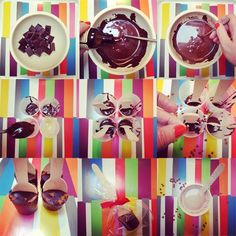 hot chocolate spoons- also a great gift idea :D