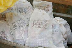 Vintage Winnie the pooh party bags