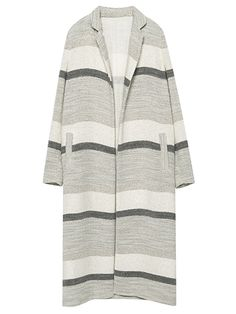 Not sold on winter white? Here's how you can dip your toe in the trend.   Zara polyester-and-wool coat, $149 (zara.com).