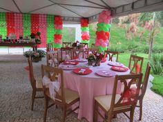 Strawberry Party Theme | Cumple temático de Frutillitas - Strawberry Shortcake themed party