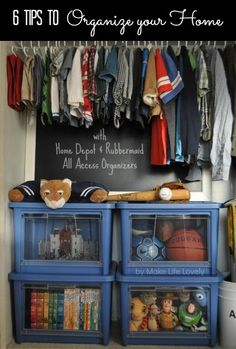 6 Tips for Organizing Your Home #AllAccessOrganizers #Pmedia