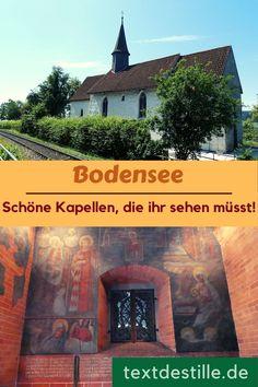 Am Bodensee gibt es neben herrlichen Kirchen auch zahlreiche schöne Kapellen. ich zeige euch fünf sehenswerte Kapellen am Bodensee. In Konstanz, Überlingen, Tettnang und auf der Bodenseehalbinsel Höri. #textdestillle Kirchen, Loreto, Europe, Hostel, Konstanz