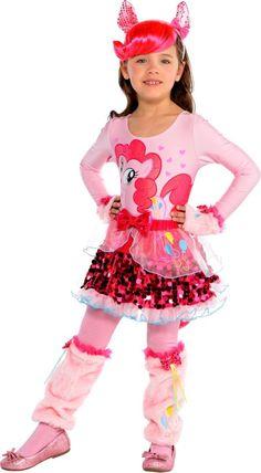 Girls Pretty Pinkie Pie Costume - My Little Pony - Party City  sc 1 st  Pinterest & Pinkie Pie halloween costume. My Little Pony: Friendship is Magiv ...