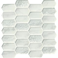 MSI Calypso Picket 12 in. x 12 in. x 8mm Glass Mesh-Mounted Mosaic Tile (9.7 sq. ft. / case)