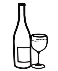 Adverse Effects of Alcohol on the Brain - Cerebrum Function Wine Glass Images, Wine Bottle Images, Wine Glass Drawing, Bottle Drawing, Wood Painting Art, Wood Art, Vegetable Coloring Pages, Mug Drawing, Bottle Tattoo