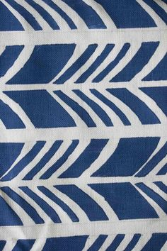 Graphic Blue & White pattern on 100% South African Cotton