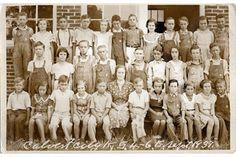 West Kentucky Genealogy: 1937 Calvert City 4-6 Grades, Marshall County, Kentucky