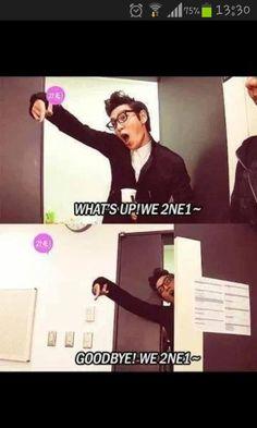 So funny xD making fun of 2NE1?  TOP (Choi Seung Hyun) ♡ #BIGBANG