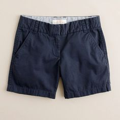 Love J.Crew 5 chino shorts!!!