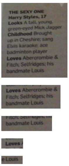 Harry loves Louis <3