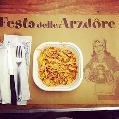 Festa delle Arzdore.. tagliatelle for you all!