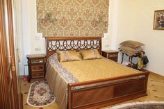 Одноклассники Bed, Furniture, Home Decor, Home Furnishings, Interior Design, Home Interiors, Decoration Home, Beds, Tropical Furniture