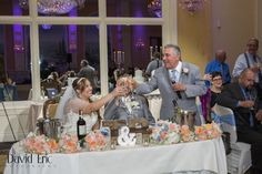 Tammy & Rick's New Jersey Wedding!!! Toast to the bride and groom!