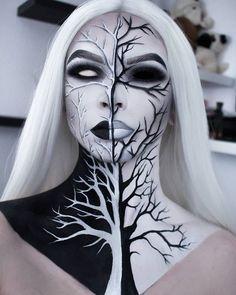 Cute Halloween Makeup, Halloween Eyes, Halloween Makeup Looks, Halloween Costumes, Halloween Nails, Diy Halloween, Halloween Makeup Artist, Joker Halloween, Anime Halloween