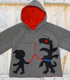 PDF sewing pattern, boys pattern, boys hoodie, boys jacket, Childrens pattern, sewing pattern, hoodie pattern, Boys Hoodie sizes 1 to 10. $6.95, via Etsy.